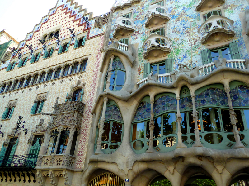 : Gaudi's Casa Batilo in Barcelona : Sue Rosoff Photography