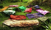 Sarongs Drying